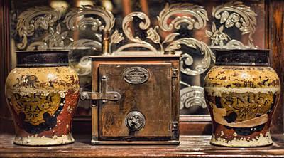 Photograph - Snuff Jars by Heather Applegate