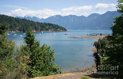 Snug Cove  Art Print