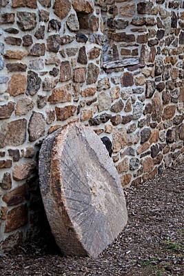 Photograph - Snyders Millstone by Michael Porchik