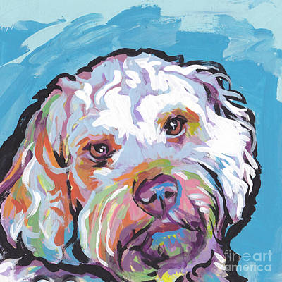 Dog Pop Art Painting - So Cocky by Lea S