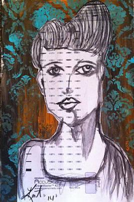 So Demure Art Print by Kent Mullens