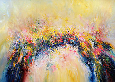 Moderne Kunst Painting - So Happy Xl 1 by Peter Nottrott