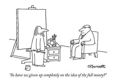 So Have We Given Up Completely On The Idea Art Print by Charles Barsotti