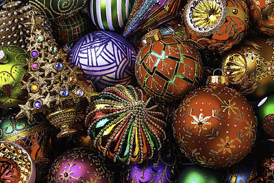 Embellishments Photograph - So Many Beautiful Ornaments by Garry Gay