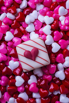Photograph - So Many Candy Hearts by Garry Gay