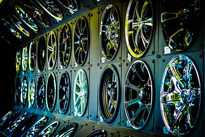 Photograph - So Many Wheels To Choose From by Ronda Broatch