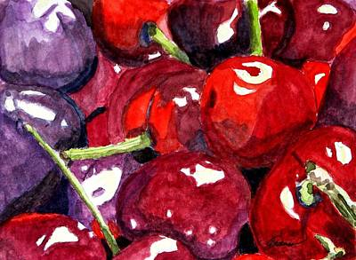 Art Print featuring the painting So Sweet by Angela Davies