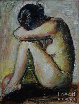 Painting - So Tired by Raija Merila