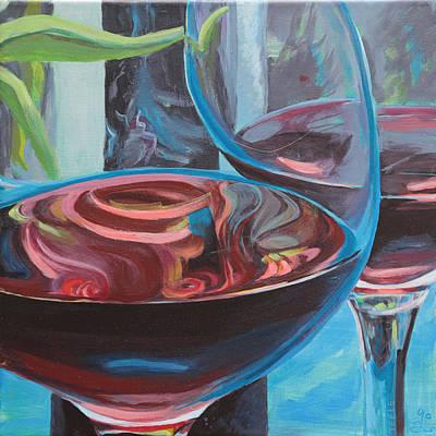 Painting - So by Trina Teele