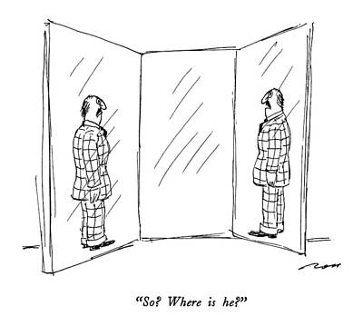 So?  Where Is He? Art Print