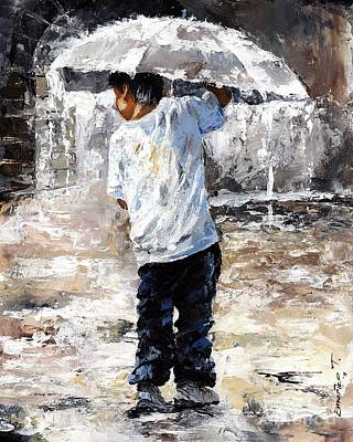 Soaked Print by Emerico Imre Toth