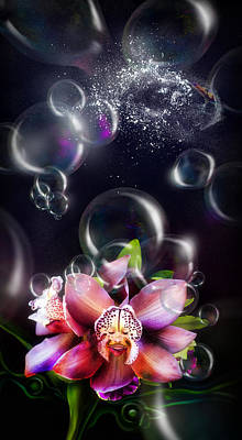 Soap Bubbles Digital Art - Soap Bubbles by Alessandro Della Pietra