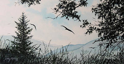 Painting - Soaring High Sold by Sandy Brindle