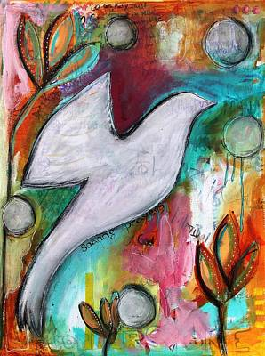 Mixed Media - Soaring Prayers by Carrie Todd