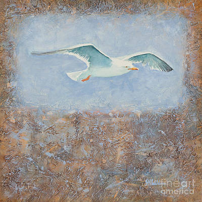 Painting - Soaring by Sandra Neumann Wilderman
