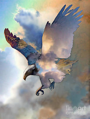 Mixed Media - Soaring by Ursula Freer