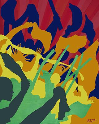 Digital Art - Soca Revolution by David James