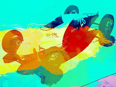 Hot Rod Wall Art - Painting - Socal by Naxart Studio