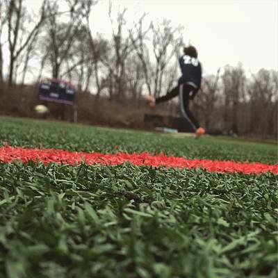 Soccer Kick Original by Cameron Kinsey