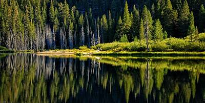 Photograph - Socher Lake Panorama by Lynn Bauer