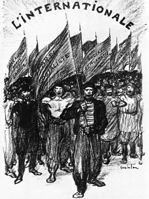 Steinlen Drawing - Socialism, 1895 by Granger