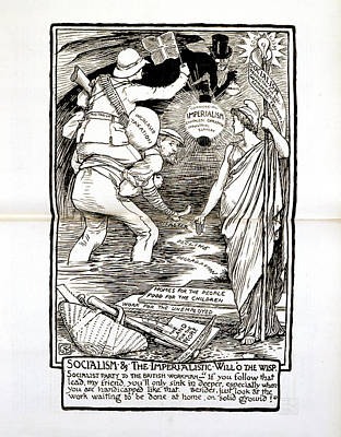 Socialism And Imperialism Art Print by British Library
