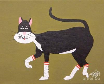 Painting - Socks by Tanja Beaver