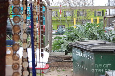 Dumpster Photograph - Soco by Andrea Aycock