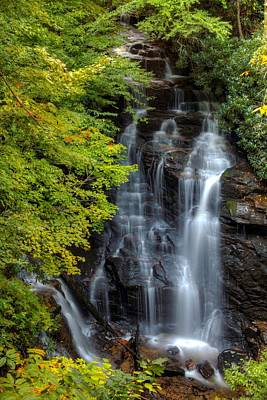 Maggie Valley Photograph - Soco Falls by Carol Montoya