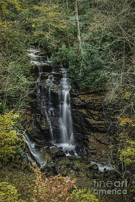 Photograph - Soco Falls by David Waldrop