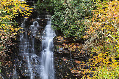 Photograph - Soco Falls Near Cherokee by Jill Lang