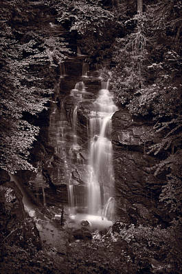 Soco Falls North Carolina B W Original