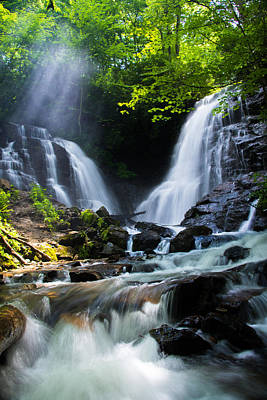 Maggie Valley Photograph - Soco Falls by Serge Skiba