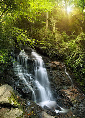 Maggie Valley Photograph - Soco Falls by Tommy  White