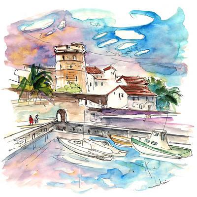 Motor Boats Painting - Socoa 07 by Miki De Goodaboom