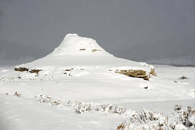 Photograph - Soda Butte Cone by Deby Dixon