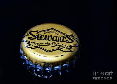 Soda - Stewarts Root Beer Print by Paul Ward