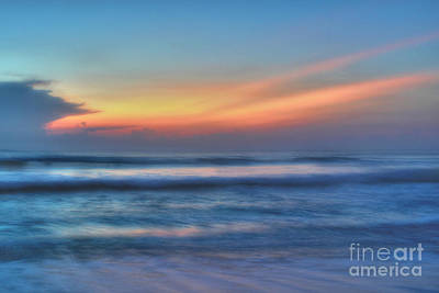 Photograph - Soft Blue Sunrise Over Singer Island by Jeff Breiman