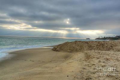 Photograph - Soft California Sunset by Deborah Smolinske