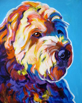 Soft Coated Wheaten Terrier Painting - Soft Coated Wheaten Terrier - Max by Alicia VanNoy Call