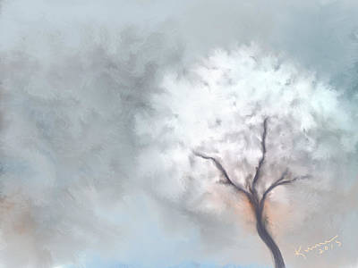 Frosty Weather Painting - Soft Dream by Kume Bryant