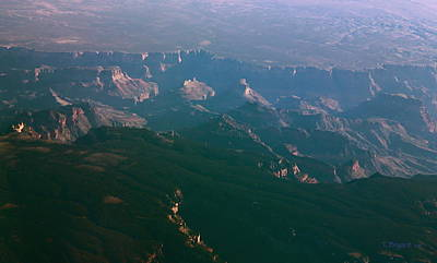 Photograph - Soft Early Morning Light Over The Grand Canyon 5 by Thomas Bryant