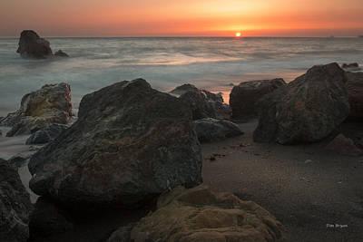 Photograph - Soft Ending----- San Simeon by Tim Bryan
