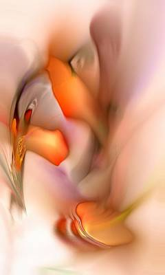 Warm Digital Art - Soft Feelings by Anastasiya Malakhova