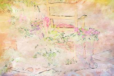 Photograph - Soft Floral Pastels by Liane Wright
