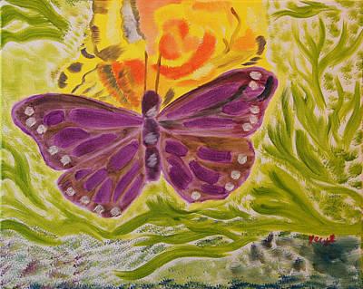 Soft Flutters Art Print