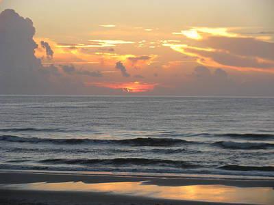 Photograph - Soft Glow Sunrise by Ellen Meakin