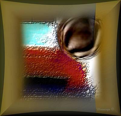 Digital Art - Soft Impact by Ines Garay-Colomba