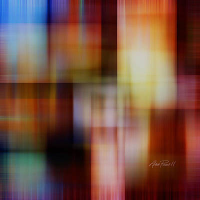 Digital Art - Soft Light - Abstract Art  by Ann Powell
