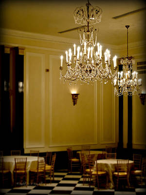Photograph - Soft Light In The Carolina Inn Ballroom by Paulette B Wright